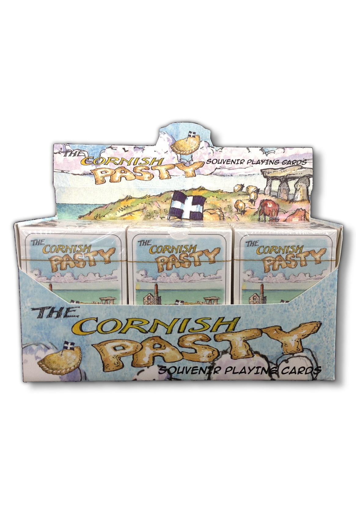 Cornish Pasty Playing Cards
