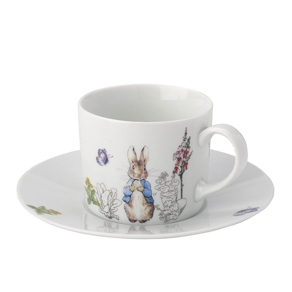 Peter Rabbit Cup and Saucer