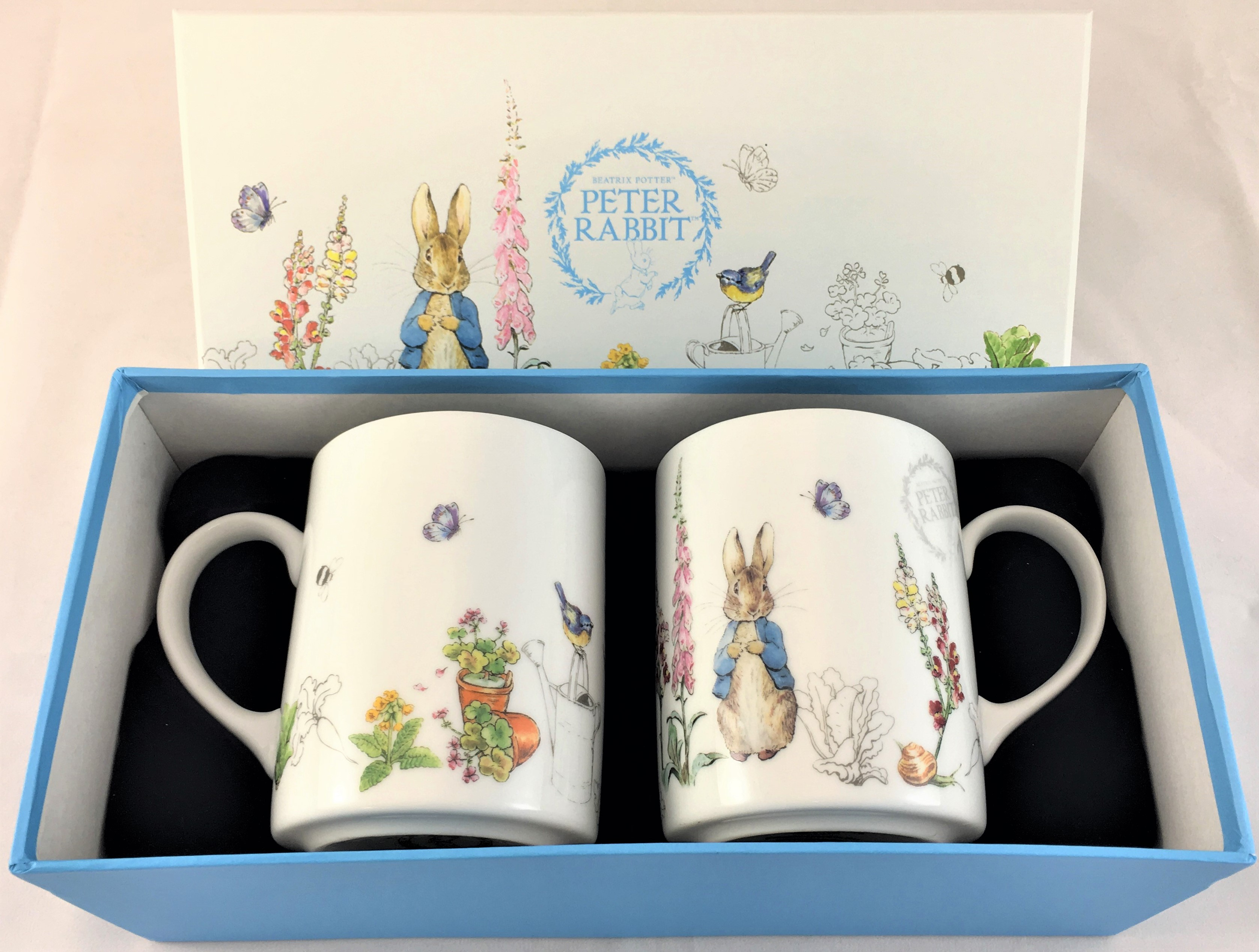 Peter Rabbit Set of Two Mugs