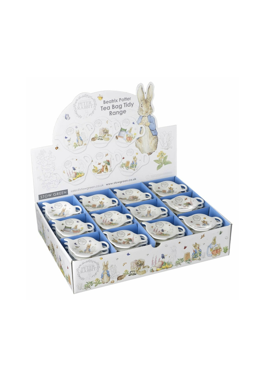 Peter Rabbit and Friends Tea Bag Tidy