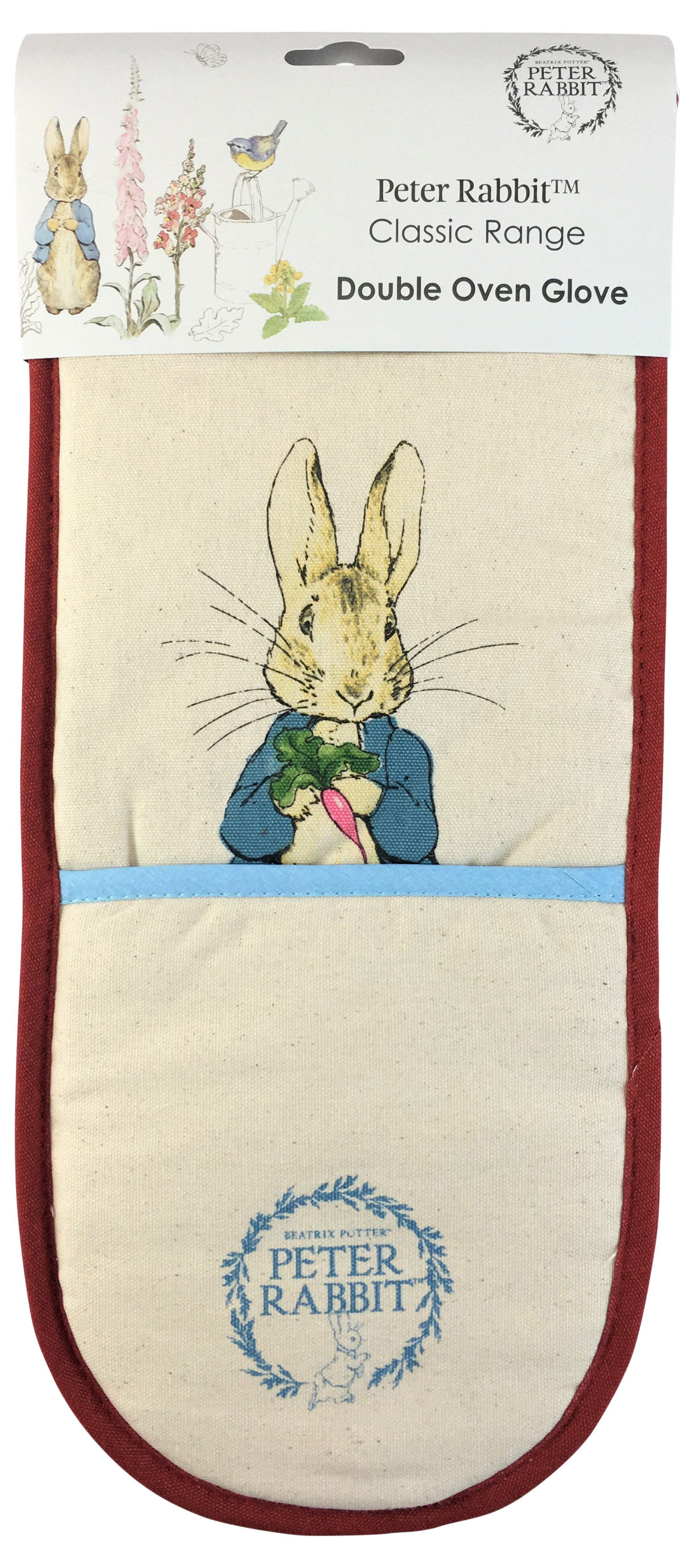 Peter Rabbit Double Oven Gloves