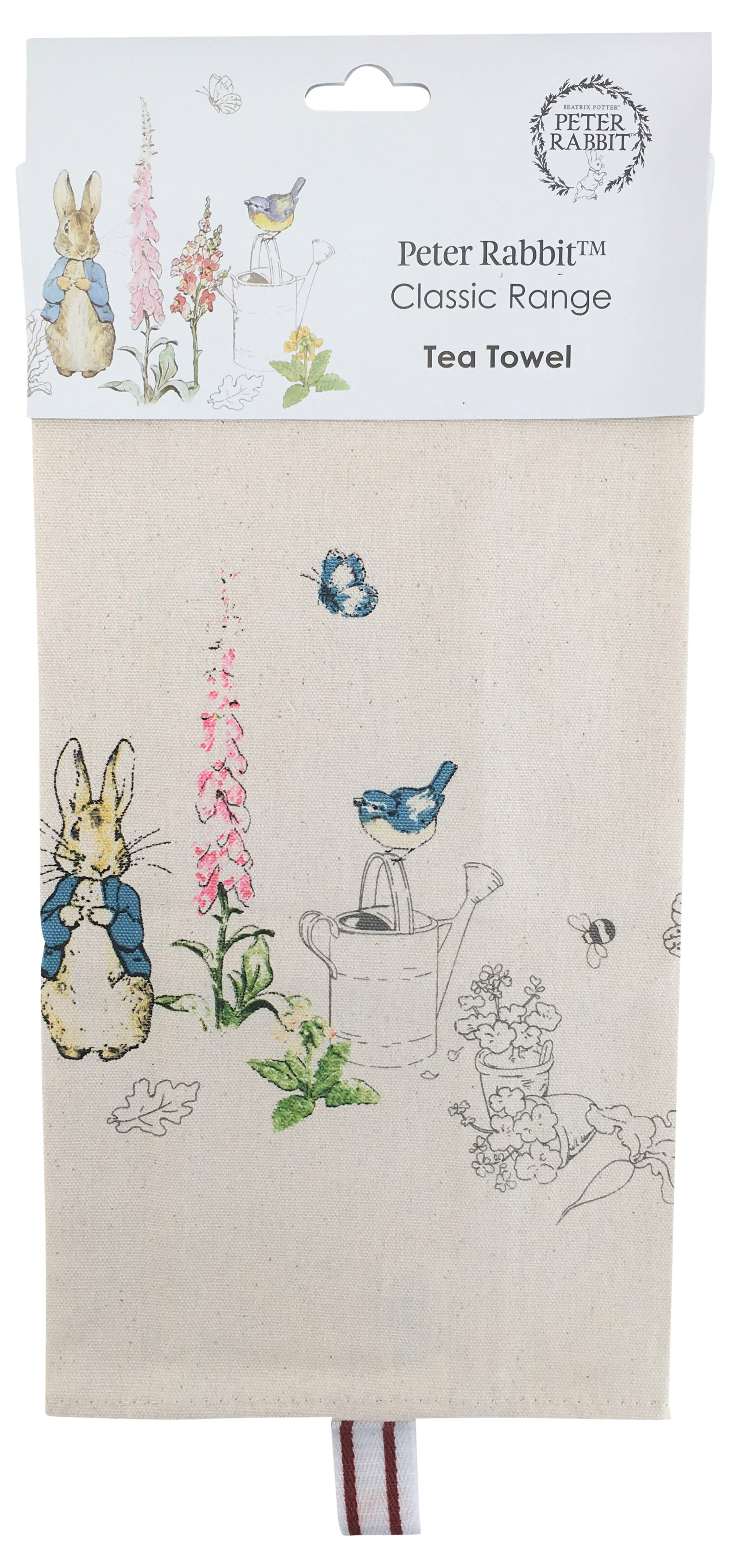 Peter Rabbit Classic Tea Towel