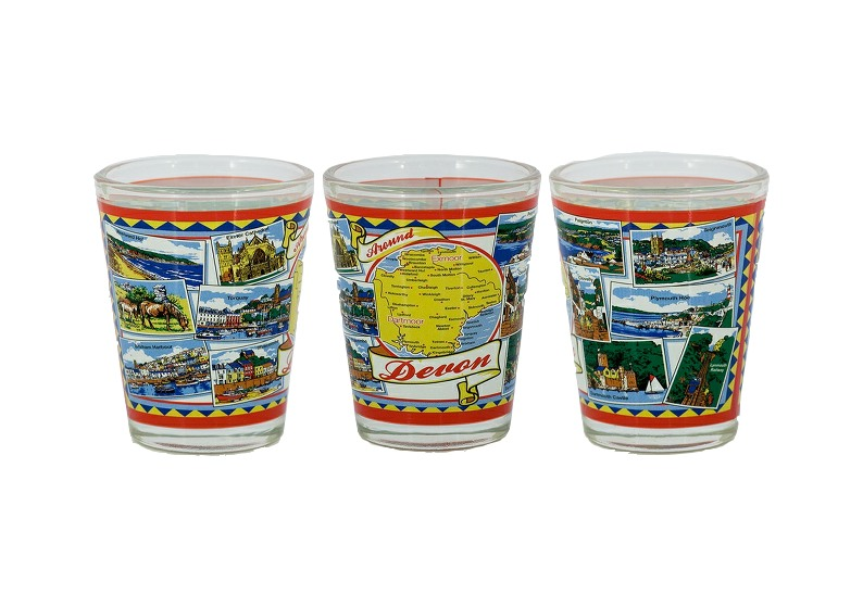 Devon Scenes Shot Glass