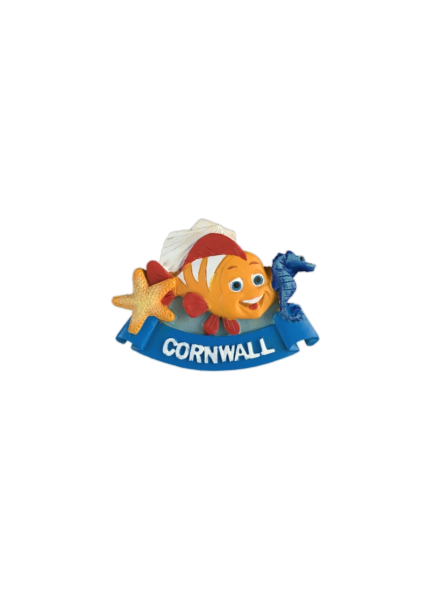 Resin Cornwall Sealife Magnet