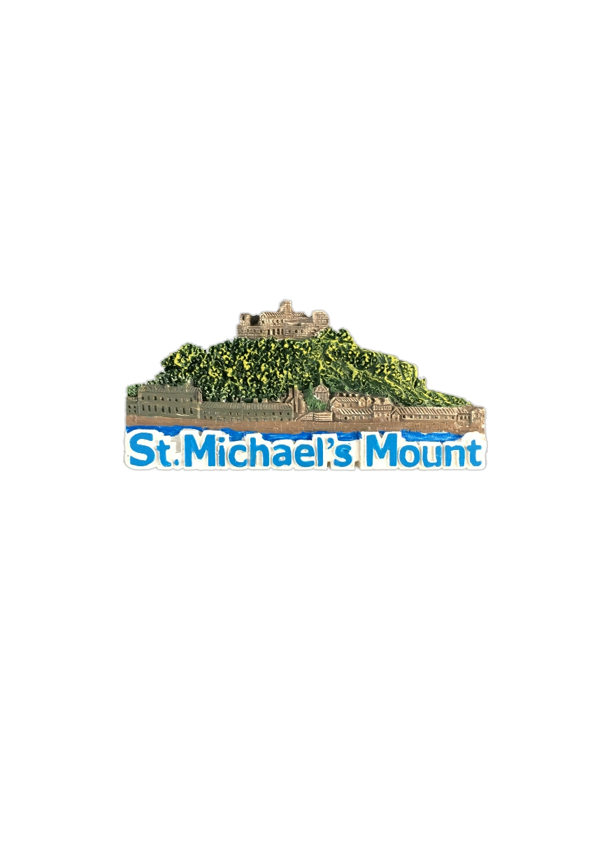 Resin St. Michael's Mount Magnet