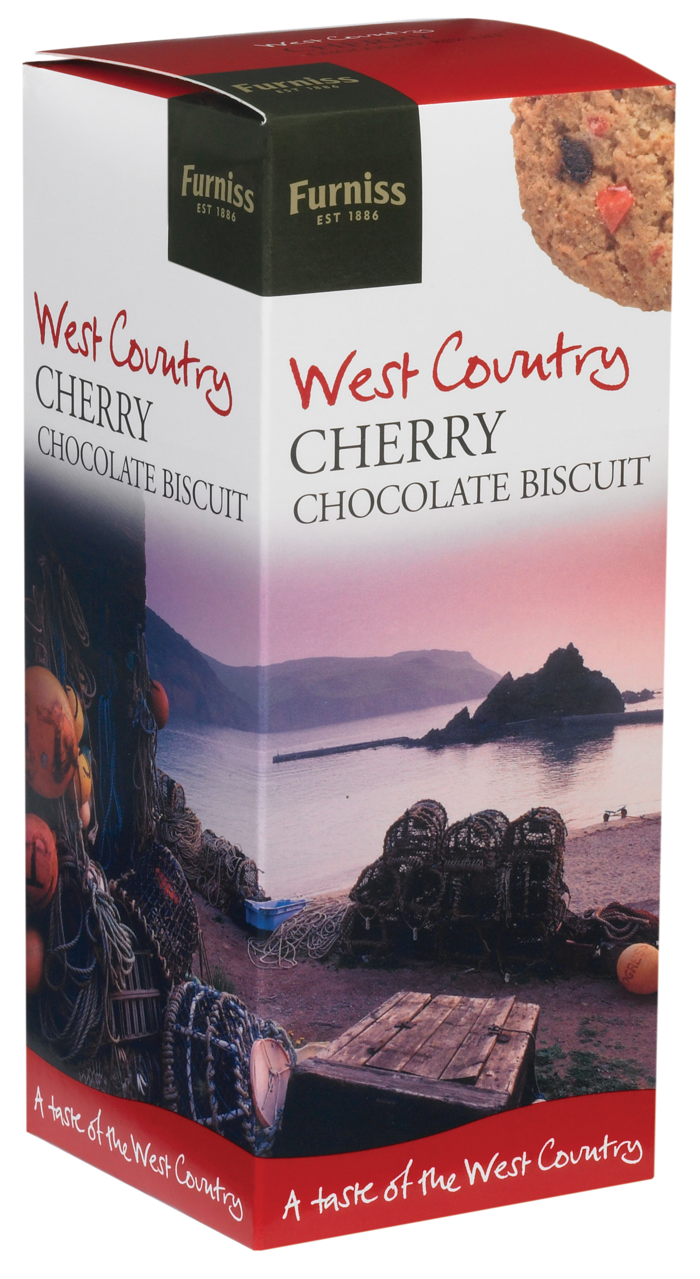 Furniss 200g Cherry Chocolate Biscuits