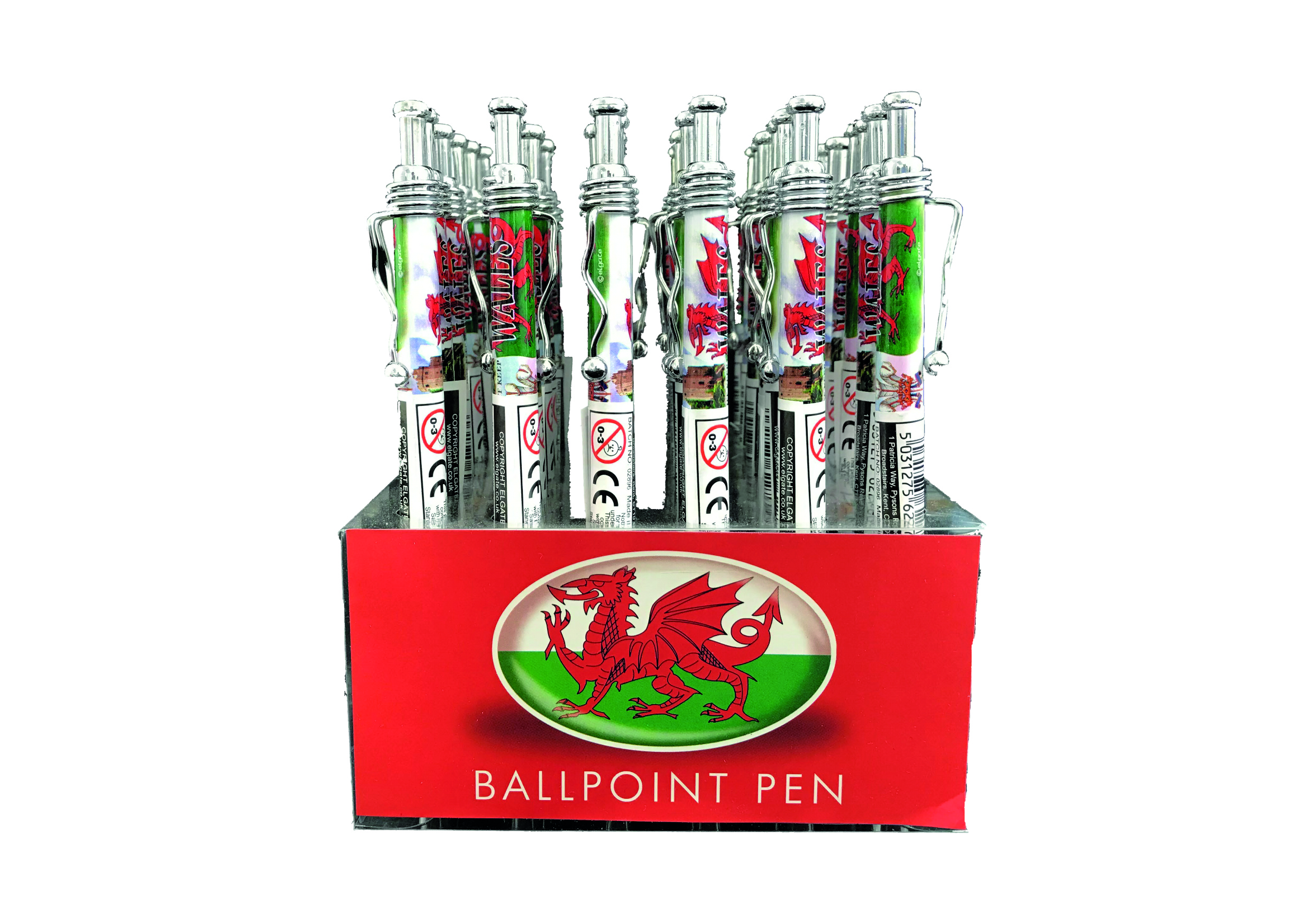 Wales Icons Pen in display box